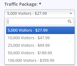 Guarenteed Web Traffic
