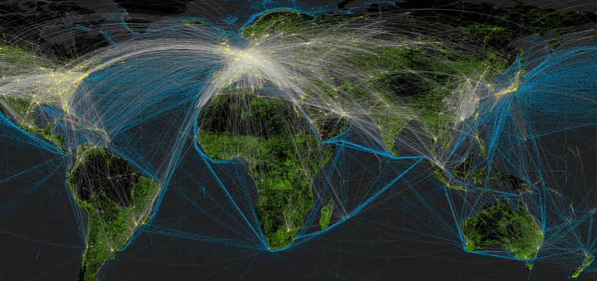 Global web traffic