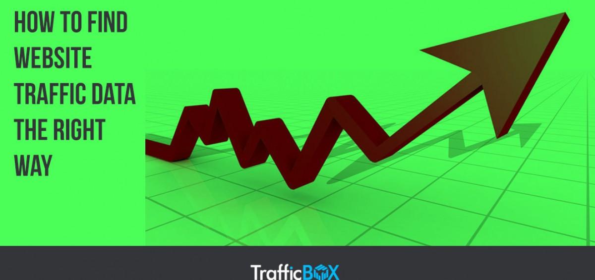 find website traffic data